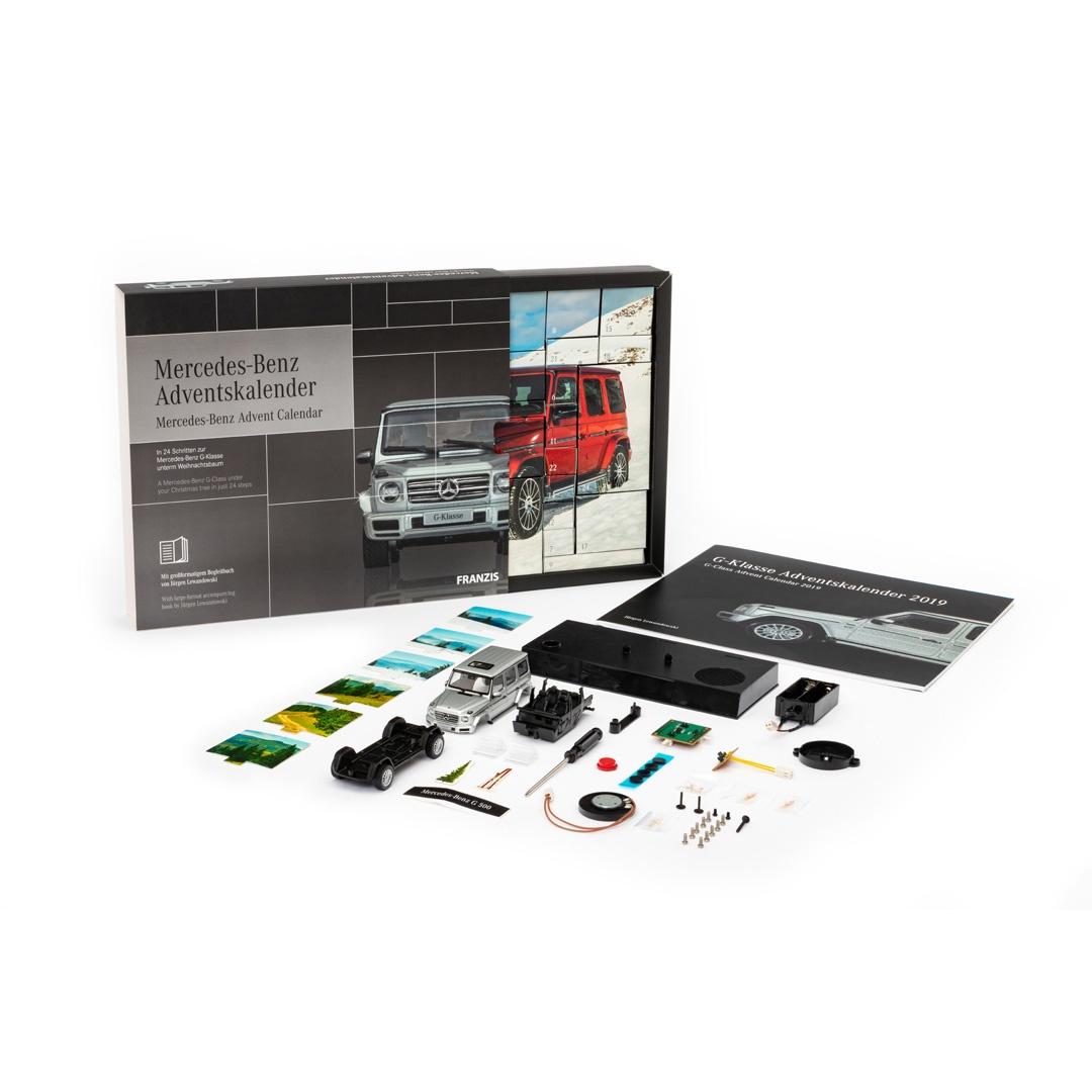 Franzis Adventskalender Mercedes Benz G-Klasse