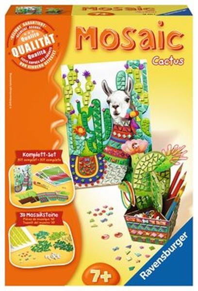 Ravensburger Bastelset Mosaic Midi Cactus