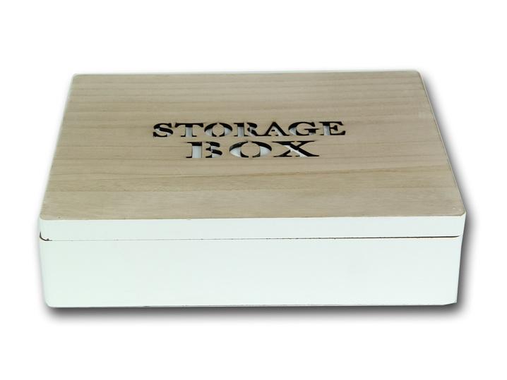 Aufbewahrungsbox Storage Box Modern Country 27 cm