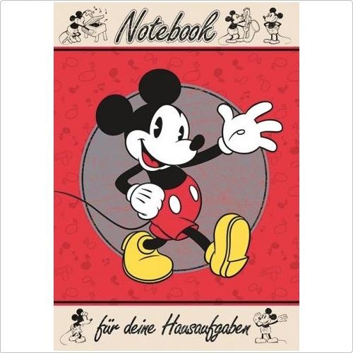 Hausaufgabenheft Micky Maus