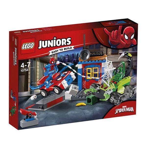 Lego Juniors 10754 Großes Kräftemessen von Spider-Man und Sk