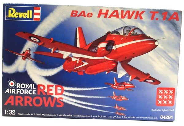 Revell 04284 Red Arrows BAe HAWK T.1A, 1:32