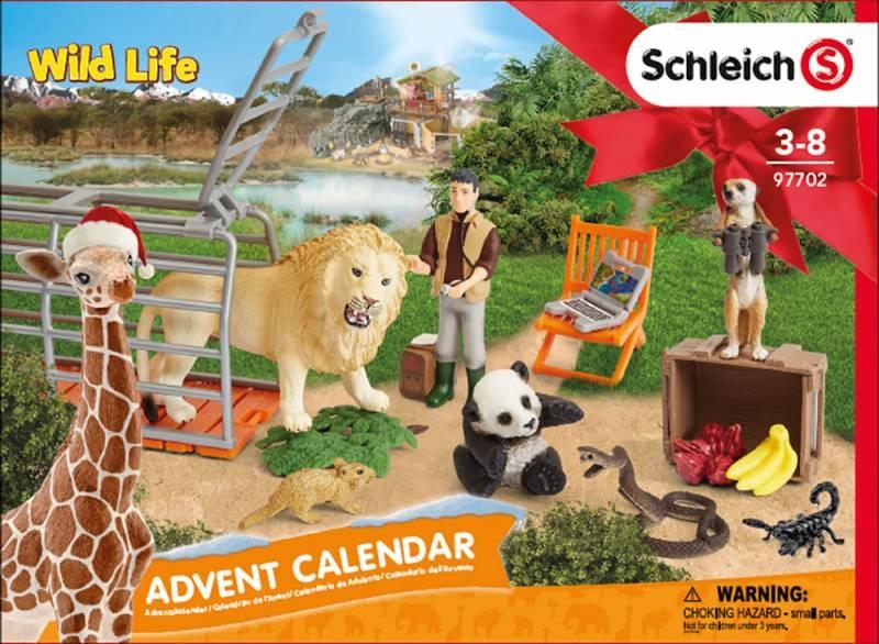Schleich Adventskalender Wild Life 97702 2018