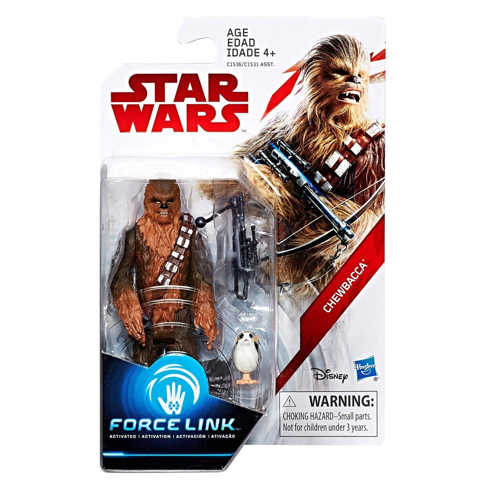 Star Wars Episode 8 Force Link Figuren Chewbacca