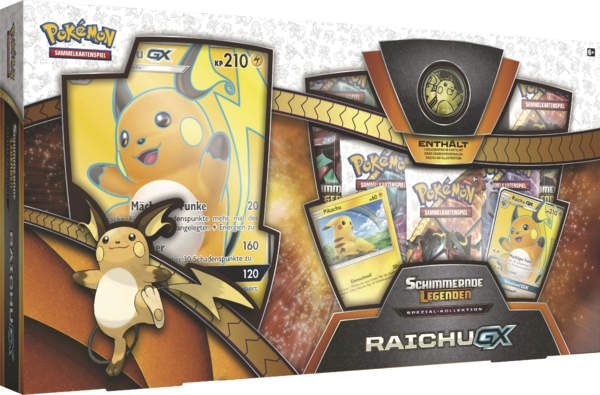 Pokemon SM3.5 Raichu-GX Box