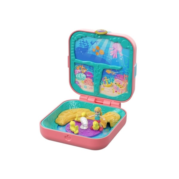 Polly Pocket Verborgene Schätze Meerjungfrauenbucht