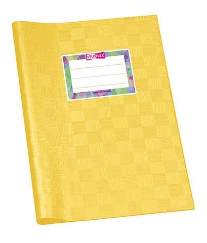 Hefthülle A5 gelb gedeckt