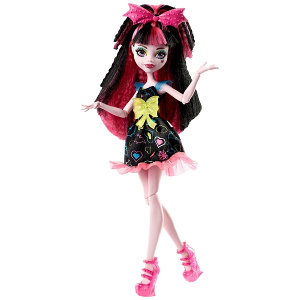 Monster High Puppe Draculaura elektrisiert