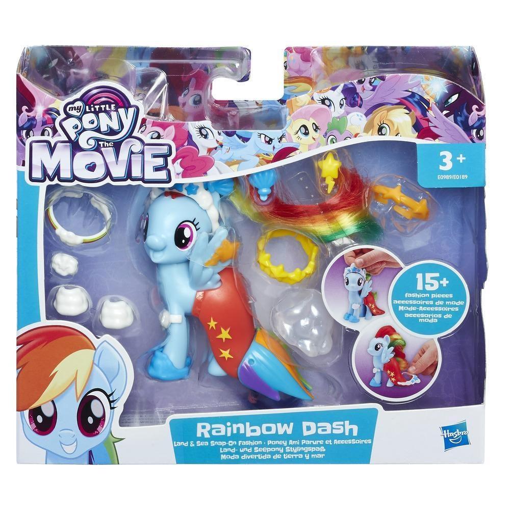 My little Pony Land- u. Seepony Stylingspaß Rainbow Dash