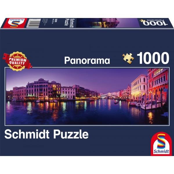 Schmidt Spiele Panorama Puzzle Canale Grande Venedig