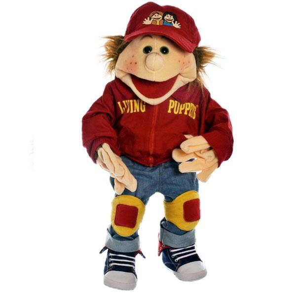 Living Puppets W312 Junge Lutzi der Skater Handpuppe