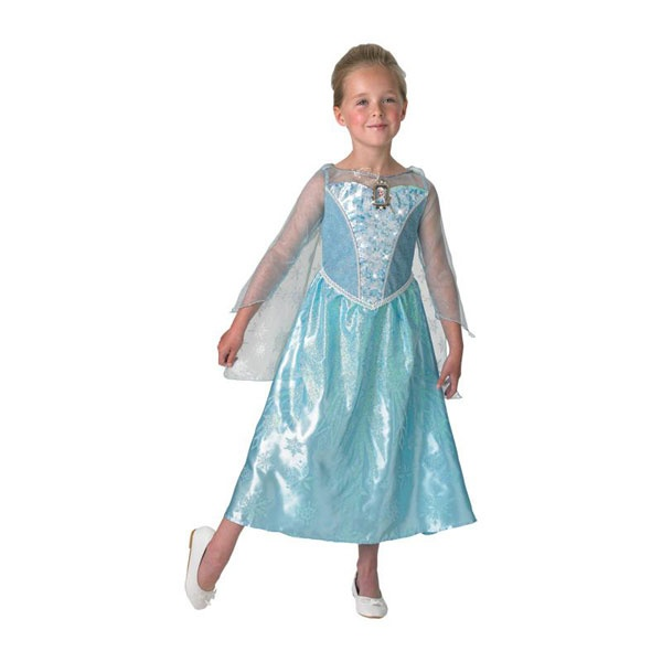 Kostüm Frozen Elsa Musical Light up M 5-6 Jahre
