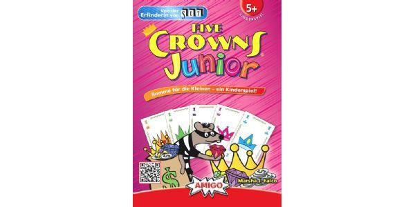 Five Crowns Junior Kinderspiel von Amigo