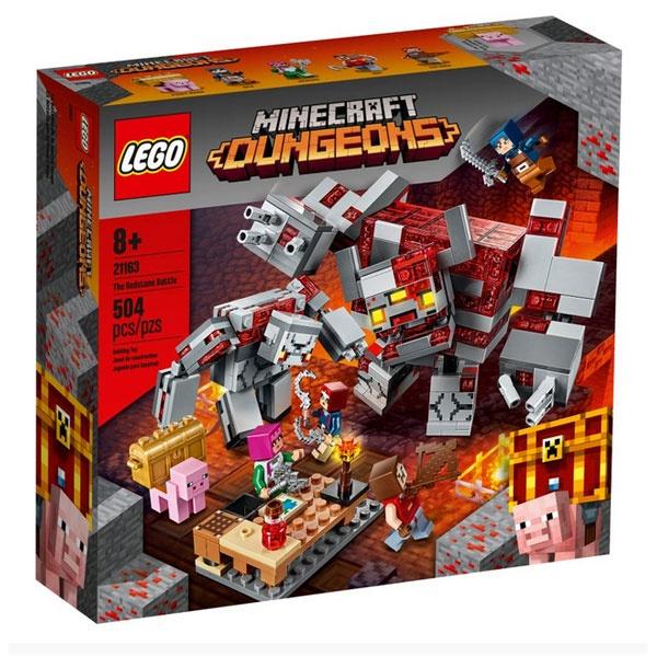 Lego Minecraft 21163 Das Redstone- Kräftemessen