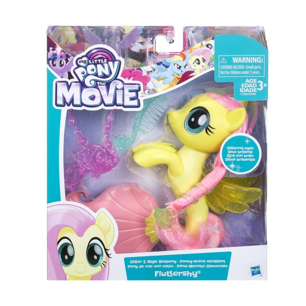 My little Pony Movie Glitter & Style Fluttershy