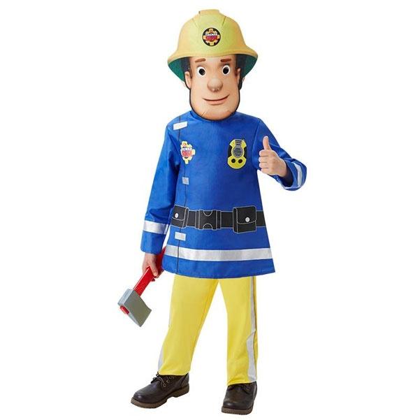 Kostüm Feuerwehrmann Sam Deluxe T 2-3 Jahre