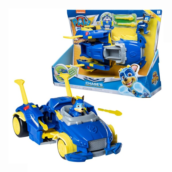 Paw Patrol Mighty Pups Changing Chases Powered Up Cruiser