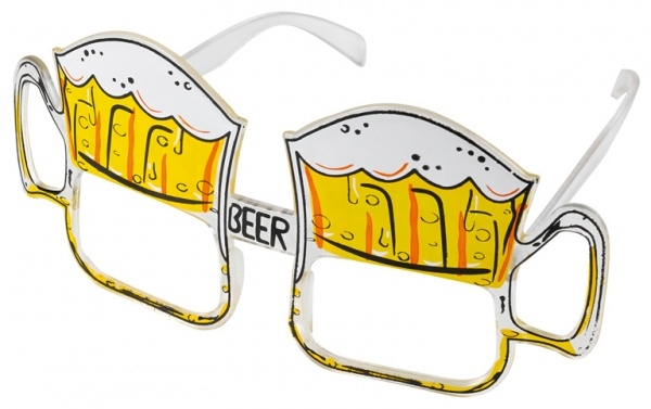 Spaß-Brille Bierglas Oktoberfest