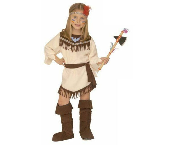 Kostüm Indianerin Gr. 116