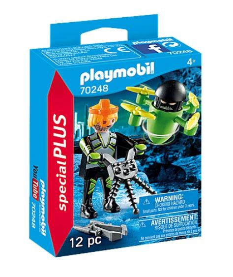 Playmobil 70248 specialPlus Agent mit Drohne