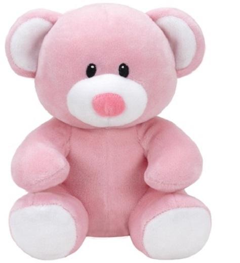Ty Baby Linie Plüschtier Bär Princess rosa 17 cm