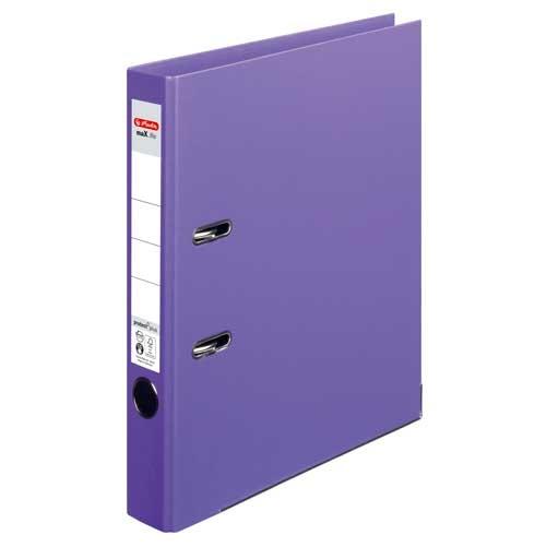 Ordner A4 max.file protect lila 5 cm von Herlitz