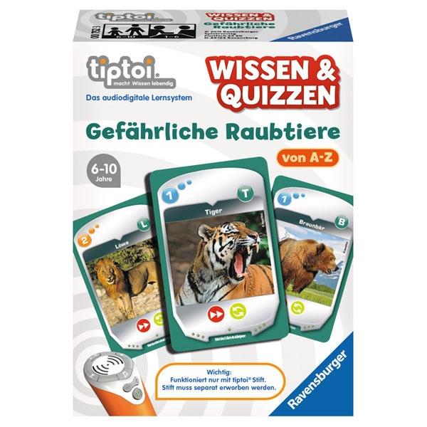tiptoi® Wissen & Quizzen: Gefährliche Raubtiere
