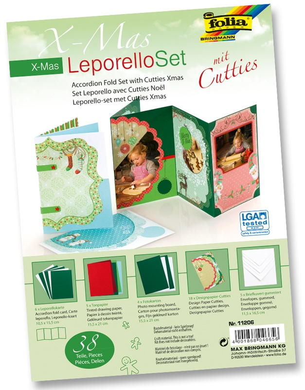 Folia Leporello Set mit Cutties X-Mas