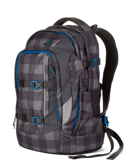 Ergobag Satch Pack Schulrucksack Checkplaid