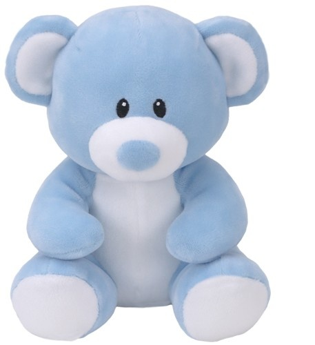 Ty Baby Linie Plüschtier Bär Lullaby hellblau 17 cm