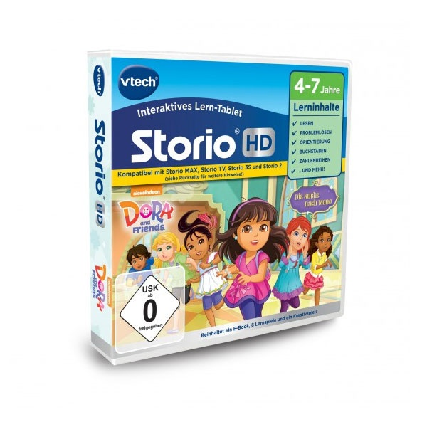 vtech Storio HD Dora and Friends