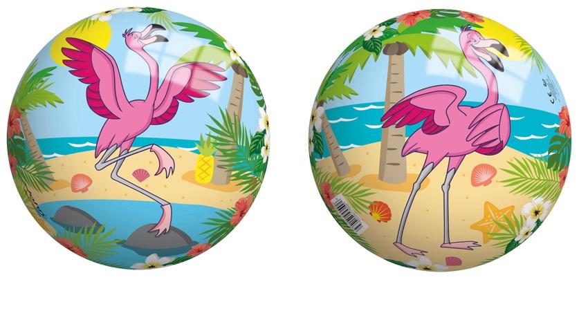 Ball mit Motiv Flamingo 23 cm