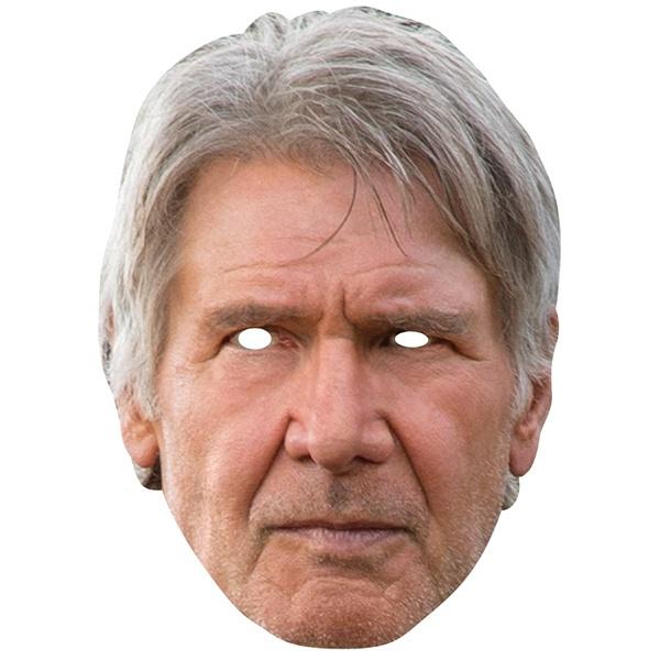 Kostüm-Zubehör Han Solo Card Mask