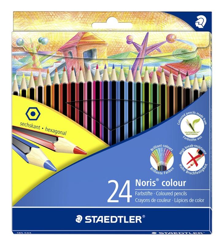 Staedtler Farbstifte Noris colour 24 Stück Packung