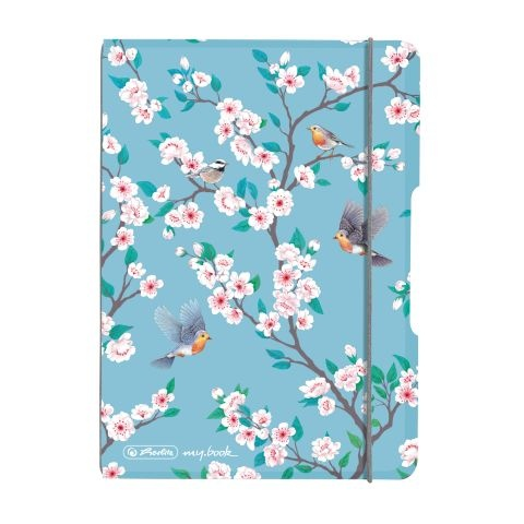 Herlitz Notizheft flex A6 Ladylike Birds