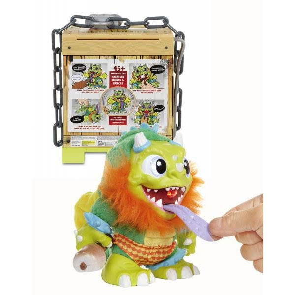 Sizzle Crate Creatures Surprise Monster in Kiste
