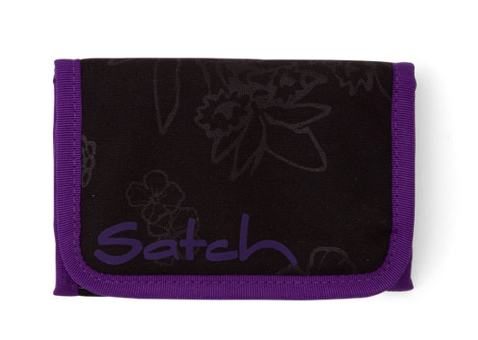 Ergobag Satch Zubehör Geldbörse Purple Hibiscus