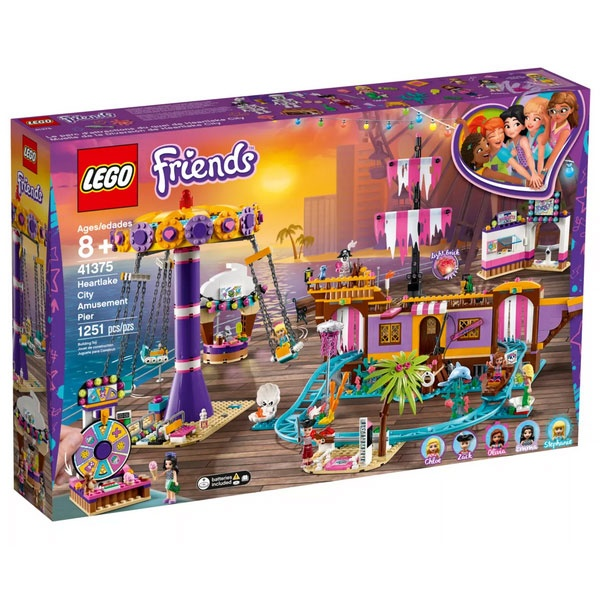 Lego Friends 41375 Vergnügungspark von Heartlake City