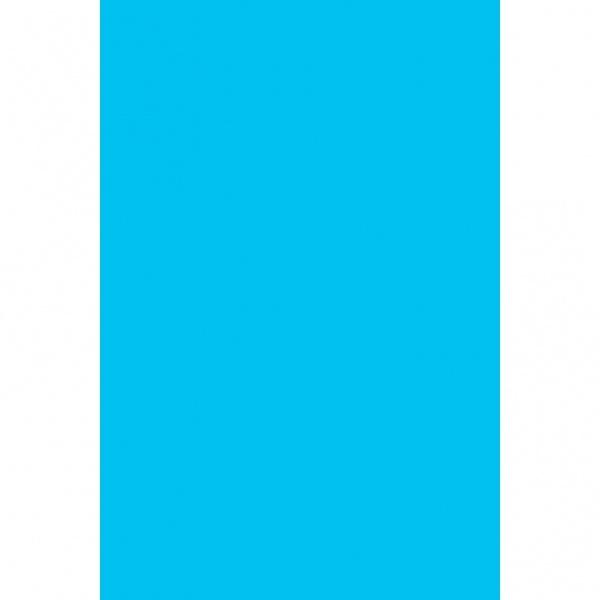 Party-Tischdfecke Kunststoff azurblau 137 x 274 cm