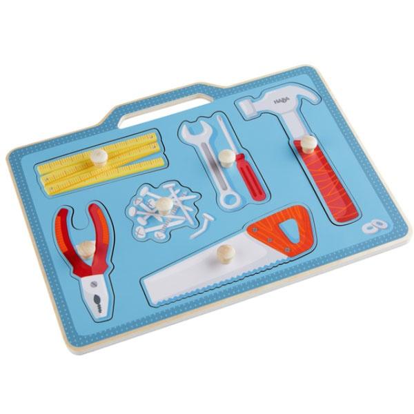 Haba Greifpuzzle Werkzeugkasten