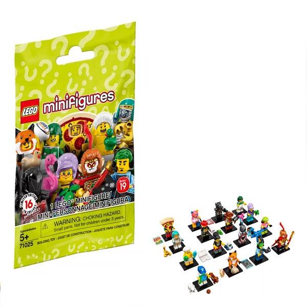 Lego Minifiguren 71025 Serie 19