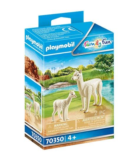 Playmobil 70350 Family Fun Alpaka mit Baby