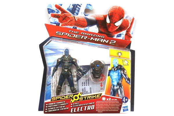 Spider Man Figur Electro Schock-Attacke