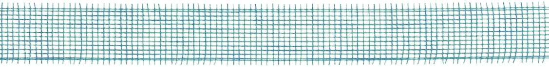 Bastelmaterial Juteband 2 m x 50 mm türkis