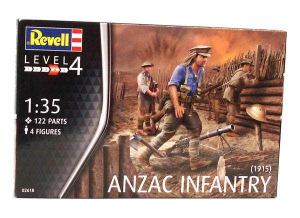 Revell 02618 Anzac Infantry 1:35