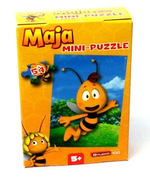 Biene Maja Mini-Puzzle 54 Teile Motiv Willi