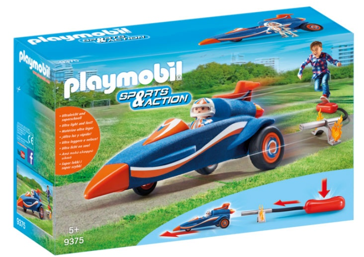 Playmobil 9375 Sports Action Stomp Racer