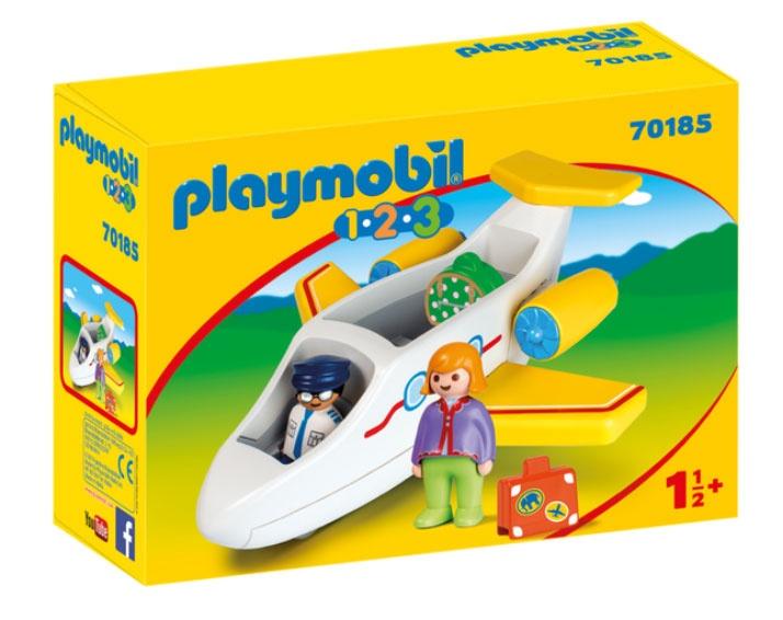 Playmobil 70185 1.2.3 Passagierflugzeug