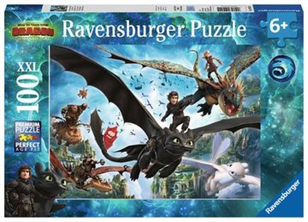 Ravensburger Puzzle Dragons Die verborgene Welt