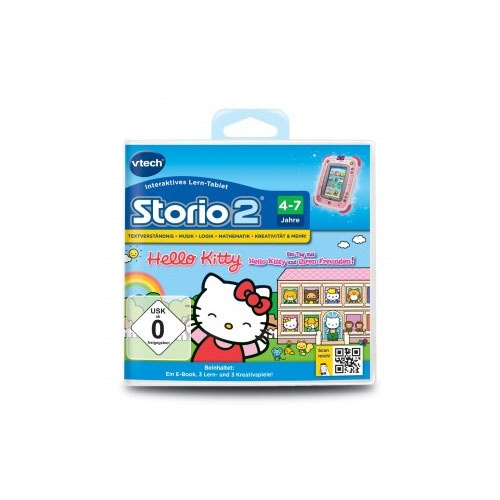 vtech Storio Lernspiel Hello Kitty